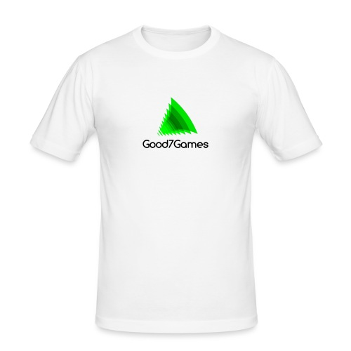 Good7Games logo - Mannen slim fit T-shirt