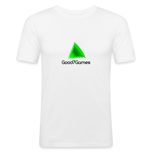 Good7Games logo - slim fit T-shirt