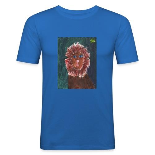 Lion T-Shirt By Isla - Men's Slim Fit T-Shirt