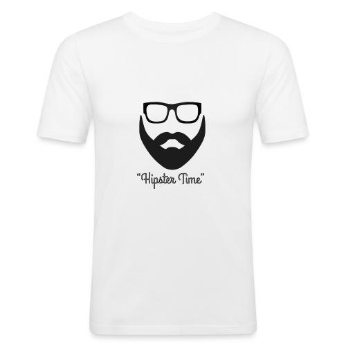 Hipster time - Camiseta ajustada hombre