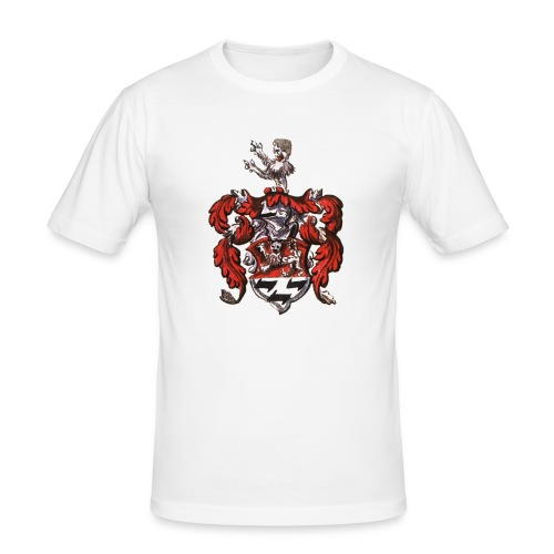 WappenEbelingAlemann1599 - Männer Slim Fit T-Shirt