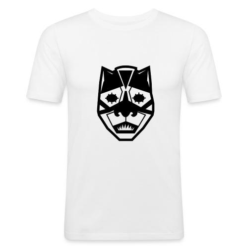 Mask Black - Maglietta aderente da uomo