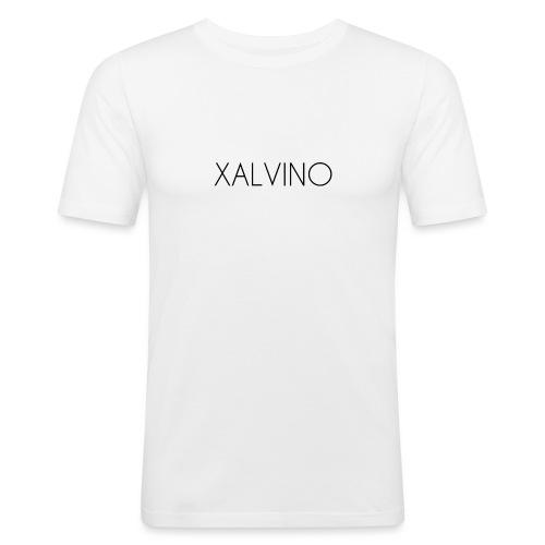 Xalvino (Black) - Mannen slim fit T-shirt