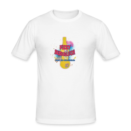 fizzy bubblech gpconcepteu - Männer Slim Fit T-Shirt