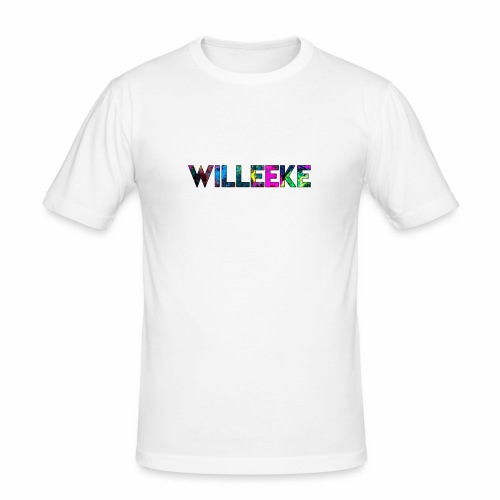 willeeke graffiti - Slim Fit T-shirt herr