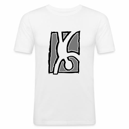 Capoeira: Hand stand - Men's Slim Fit T-Shirt