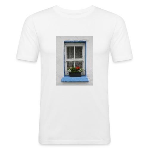 Cashed Cottage Window - Men's Slim Fit T-Shirt