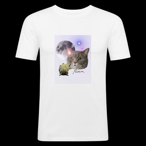 Sieni- muki erilaisille juomaseoksille - Miesten tyköistuva t-paita