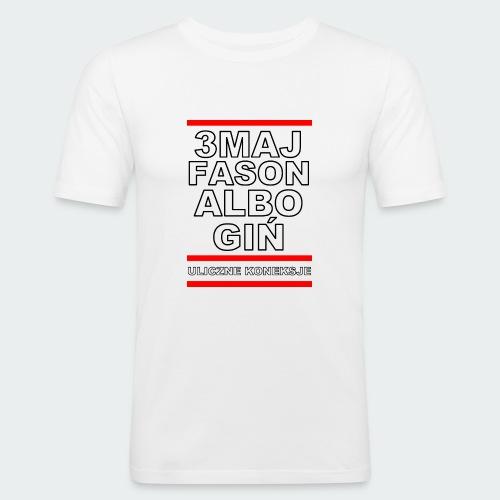 Koszulka Damska Premium 3MajFason - Obcisła koszulka męska
