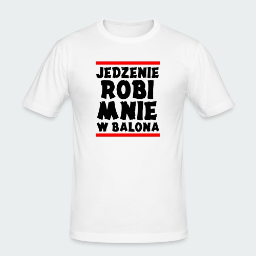 Damska Koszulka Premium JRBWB - Obcisła koszulka męska