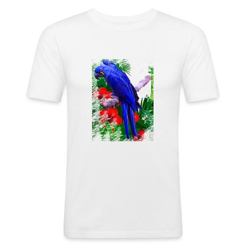 PAPPAGALLI - Maglietta aderente da uomo