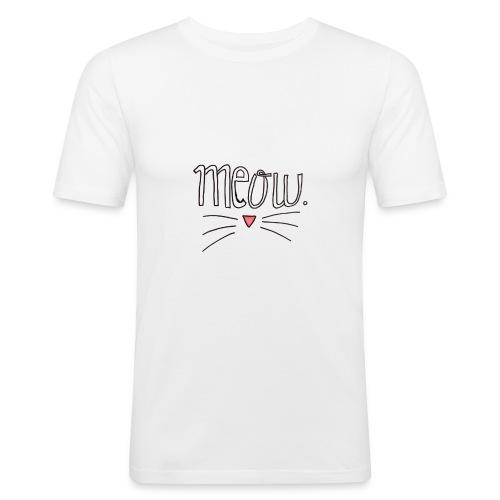 MEOW - Camiseta ajustada hombre