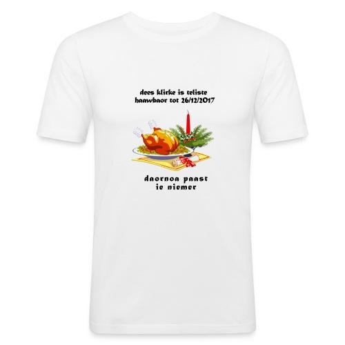 teliste_haawbaor - Mannen slim fit T-shirt
