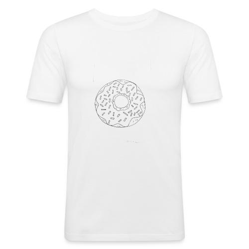 Le Donut - T-shirt près du corps Homme