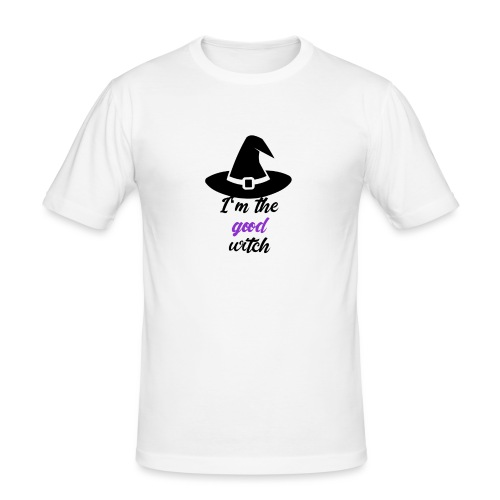 Happy Halloween - Männer Slim Fit T-Shirt