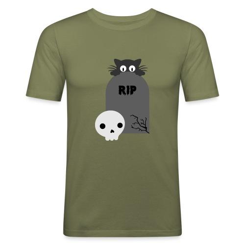 Dark But Cute - Men's Slim Fit T-Shirt