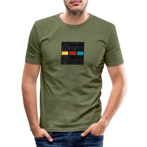 Boxed 015 - Männer Slim Fit T-Shirt