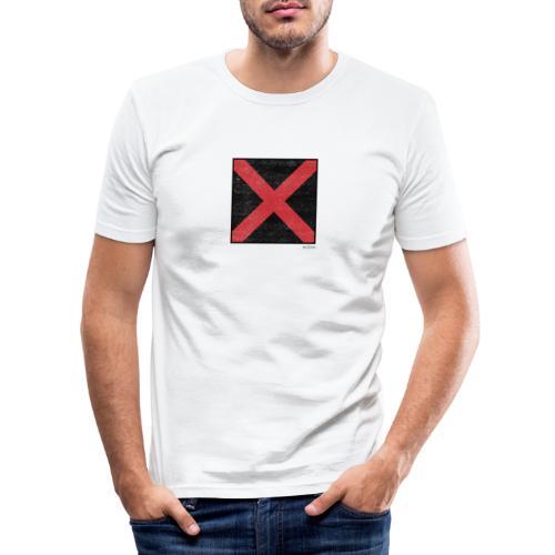Boxed 008 - Männer Slim Fit T-Shirt