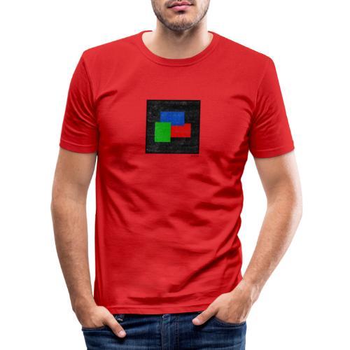 Boxed 006 - Männer Slim Fit T-Shirt