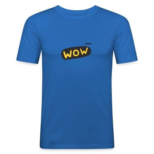 WoW Shirt - Men's Slim Fit T-Shirt