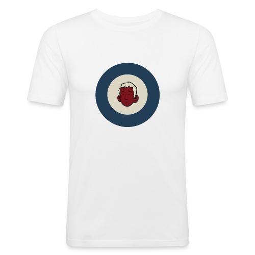Fahrradmod Logo neu - Men's Slim Fit T-Shirt
