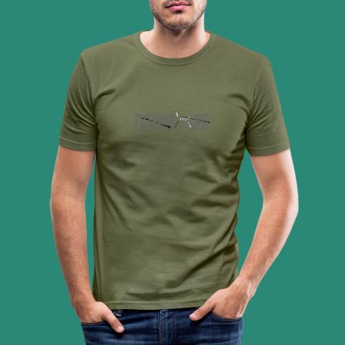 EXCLUSION ZONE - Männer Slim Fit T-Shirt