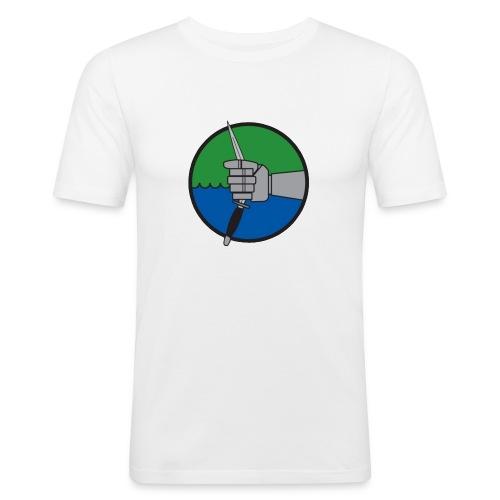 maerket transparentsuddklar - Slim Fit T-shirt herr