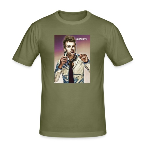 Rush hour on monday - Men's Slim Fit T-Shirt