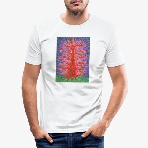 Holy Tree - Obcisła koszulka męska