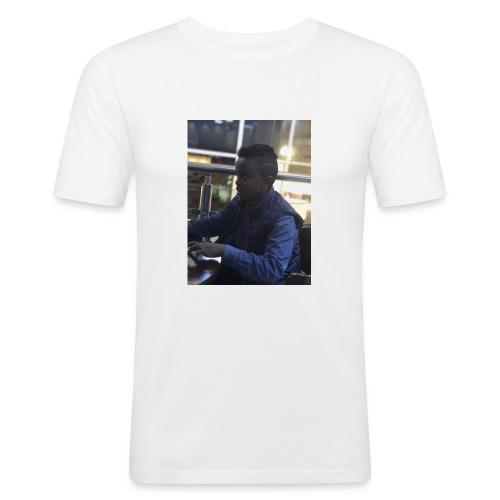 Yafet Takele - Slim Fit T-skjorte for menn