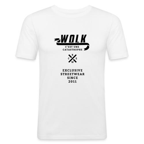 varsityx04 - Mannen slim fit T-shirt