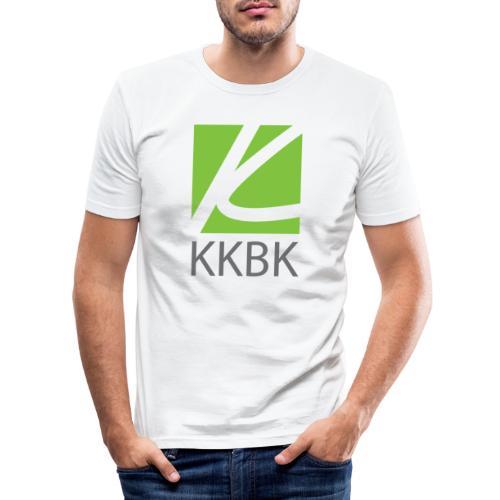 KKBK Logo - Männer Slim Fit T-Shirt