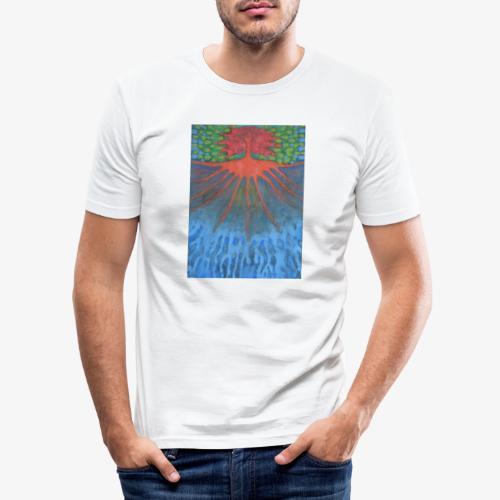 Drzewo Źycia - Obcisła koszulka męska