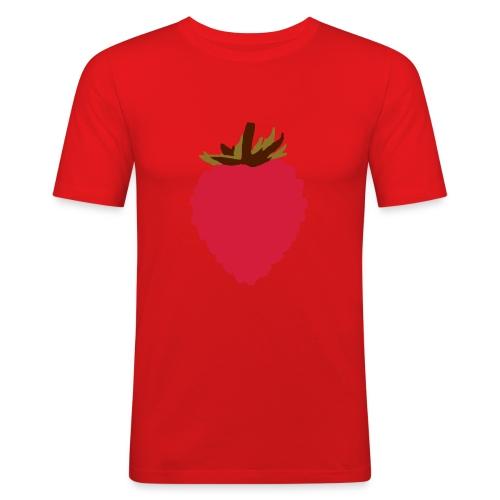 Wild Strawberry - Men's Slim Fit T-Shirt