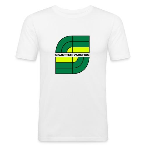 skjetten - Slim Fit T-skjorte for menn