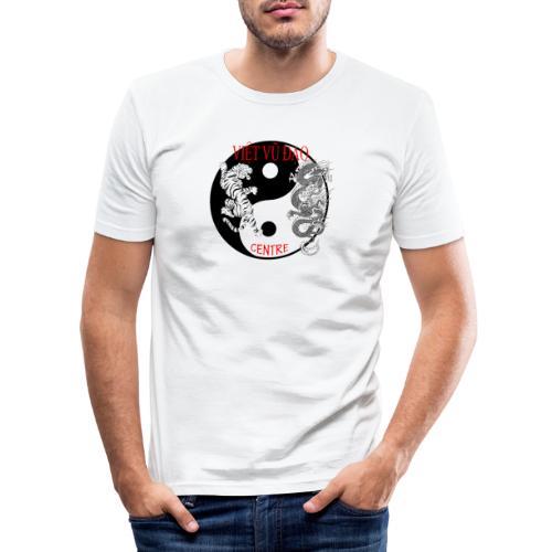 logo grand - T-shirt près du corps Homme