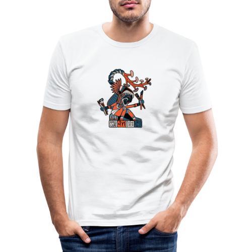 MAESTRO MEZCALERO PREHISPÁNICO - Camiseta ajustada hombre