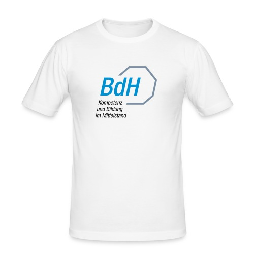 Logo Betriebswirte des Handwerks e V - Männer Slim Fit T-Shirt