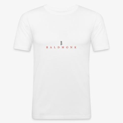 Baldmonk Classic Logo - Men's Slim Fit T-Shirt