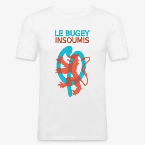 Le Bugey insoumis - T-shirt près du corps Homme