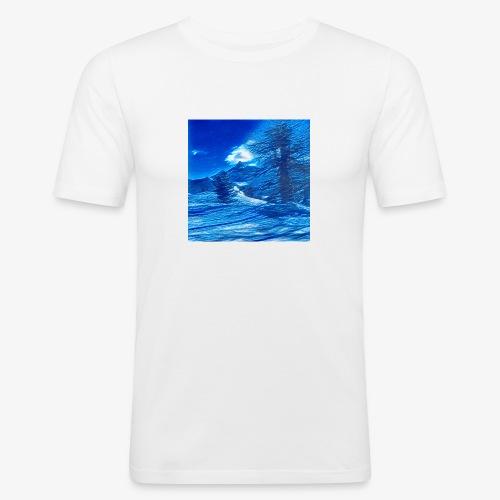 Magia dei Monti della Luna - Maglietta aderente da uomo