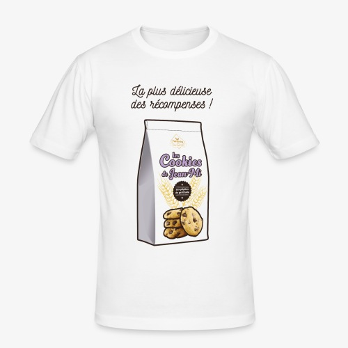 Les Cookies de Jean-Mi - T-shirt près du corps Homme