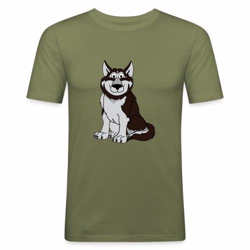 Husky - Männer Slim Fit T-Shirt