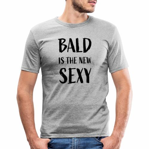 Bald is the new Sexy - Mannen slim fit T-shirt