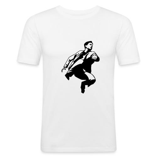 hoja - Slim Fit T-shirt herr