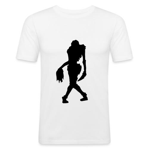zombie girl big - T-shirt près du corps Homme