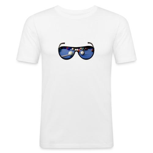 Cool Pool Shades - Men's Slim Fit T-Shirt