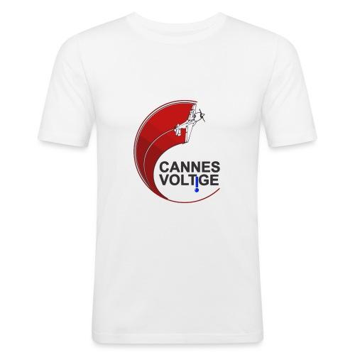 vect last logo cannes - T-shirt près du corps Homme