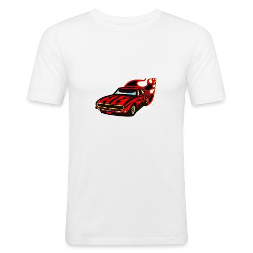 auto fahrzeug rennwagen - Männer Slim Fit T-Shirt