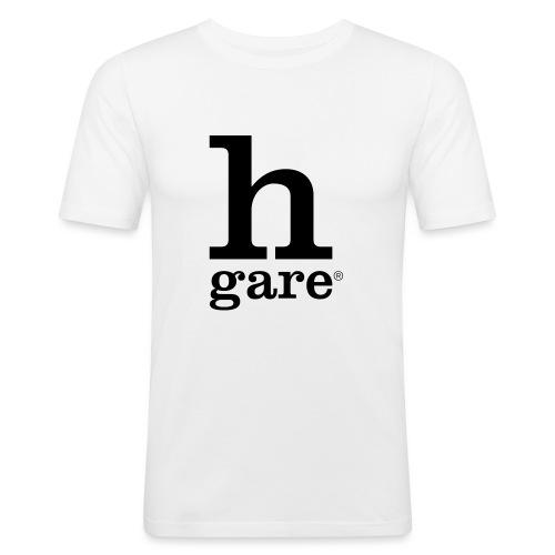 HGARE LOGO - Maglietta aderente da uomo